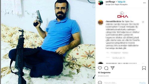 Eskişehir'de Tokkal ailesinin katil zanlısı Boğa'nın, PKK'lı teröristlerin mezarlığında fotoğrafı çıktı | Video