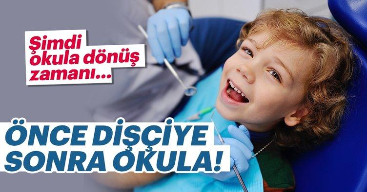 Okula dönüş zamanı mutlaka diş hekimine uğrayın!