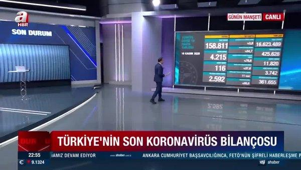 Son Dakika Haberleri | 18 Kasım korona tablosu! 18 Kasım Türkiye'de corona virüs vaka ve ölü sayısı kaç oldu? | Video