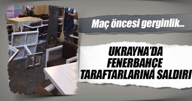 Ukrayna'da Fenerbahçeli taraftarlara saldırı
