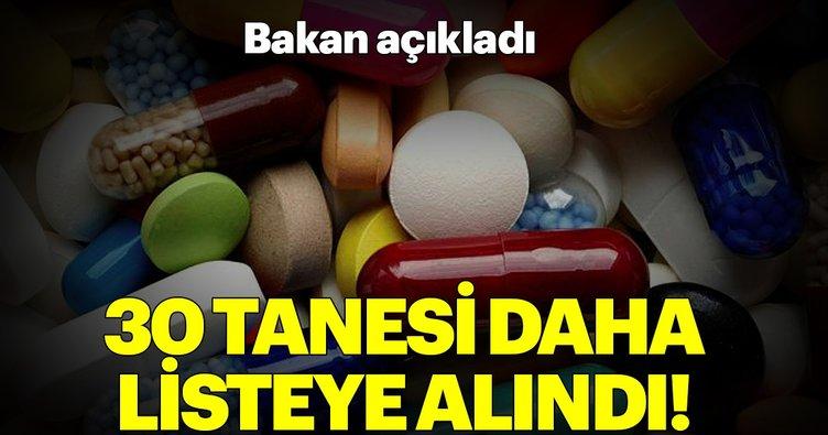 Bakan Zehra Zümrüt Selçuk açıkladı! 30 ilaç daha geri ödeme listesine alındı