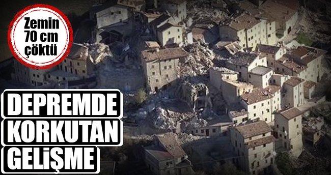 İtalya depreminden korkutan gelişme