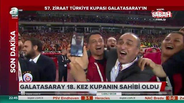 Galatasaray'da kupa sevinci Emre Akbaba ile yaşandı