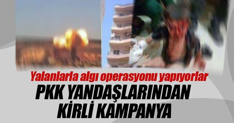 PKK yandaşlarından kirli kampanya
