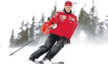 Michael Schumacher'in gözyaşları