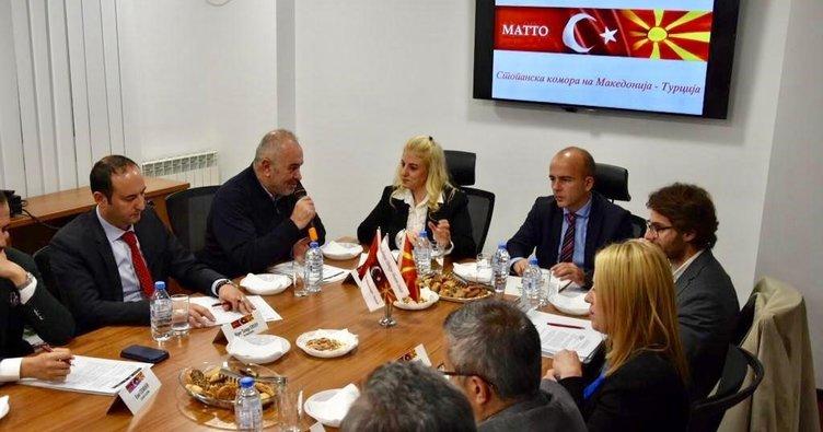 Maliye Bakanı Tevdovski Türk İşadamlarıyla Buluştu