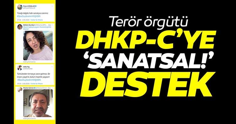 Terör örgütü DHKP-C'ye destek verdiler! Sanatçılar ama terörü destekliyorlar
