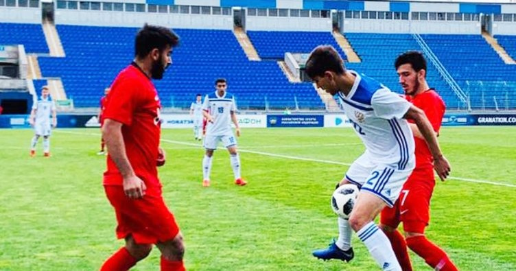 U18 Milli Takımımız, Valentin Granatkin Turnuvası'nda 3. oldu