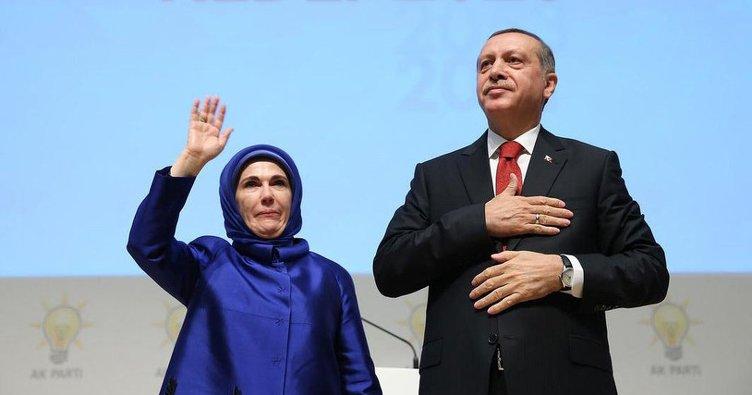 Cumhurbaşkanı Erdoğan, eşi Emine Erdoğan'ı takibe başladı!