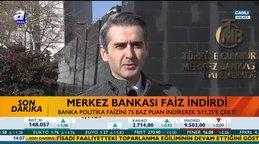 Merkez Bankası faiz indirdi! 75 baz puan indirerek %11,25'e çekti
