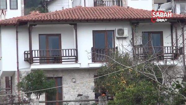 SON DAKİKA: Ünlü Modacı Tasarımcı Aslı Yılmaztürk'ün ölü bulunduğu ev kamerada | Video