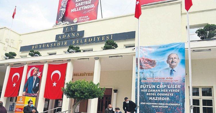 CHP belediyeyi il binasına dönüştürdü