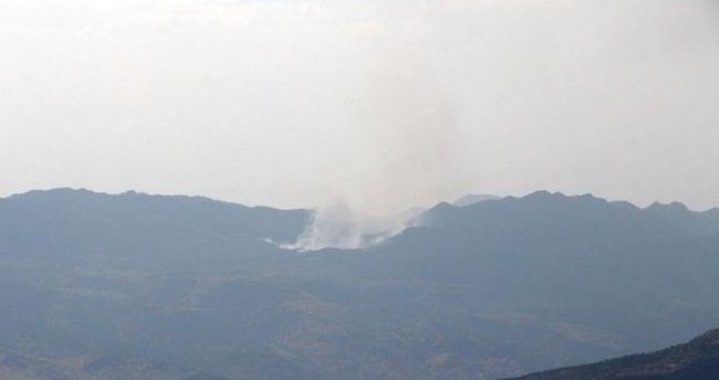 Küpeli Dağı'nda hava destekli operasyon