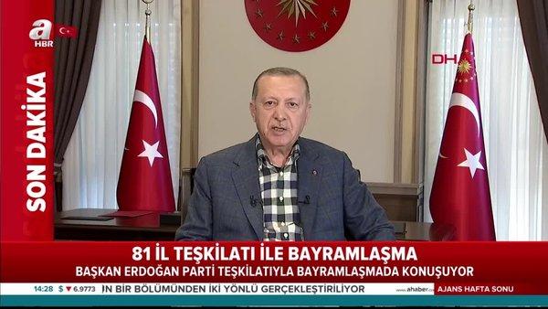Son dakika: Başkan Erdoğan'danAK Partiteşkilatlarına önemli talimat | Video