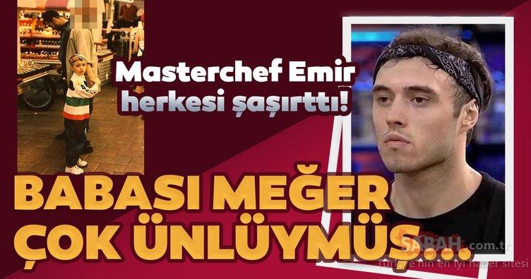 MasterChef Emir Elidemir'in babası meğer çok ünlüymüş... İşte MasterChef yarışmacısı Emir'in Milli futbolcu olan babası...