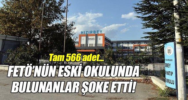 FETÖ'nün eski okulunda 566 adet boş mermi kovanı bulundu