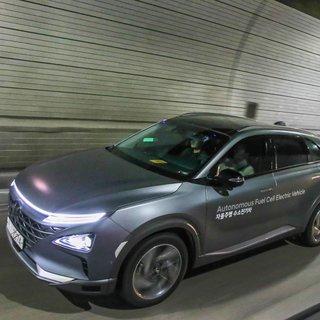 Hyundai NEXO, kendi kendine 190 km yol yaparak dünyada bir ilke imza attı