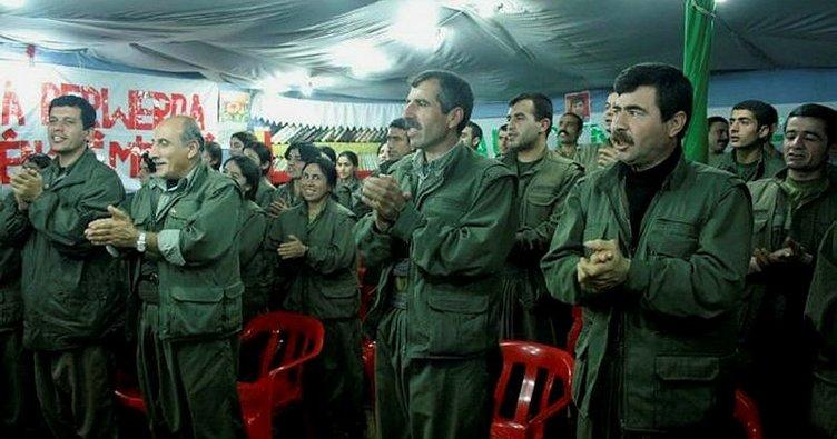 """PYD elebaşı """"Mazlum Kobani"""" kod adlı terörist Ferhad Abdi Şahin PKK kampında"""