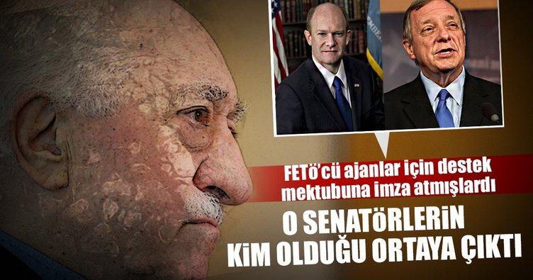 Türkiye'yi Trump'a şikayet eden senatörlerin neredeyse tamamı FETÖ'cü çıktı!