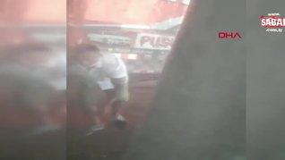 Son dakika: İzmir'de tepki çeken vahşet! Köpeğe işkence anı kamerada   Video