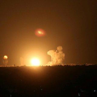 İsrail yine Gazze'ye saldırdı! Gazze Şeridi'nin farklı bölgelerine hava saldırısı