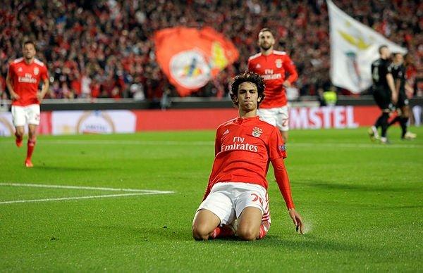 Joao Felix, Benfica - Frankfurt Avrupa Ligi maçında tarih yazdı!