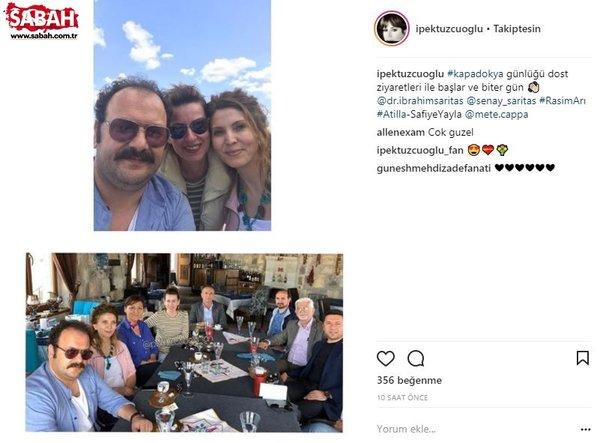 Ünlü isimlerin Instagram paylaşımları (15.04.2018) (Yağmur Sarıoğlu)