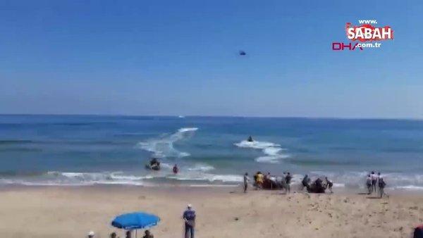 Şile'de denize giren iki kardeş boğuldu | Video