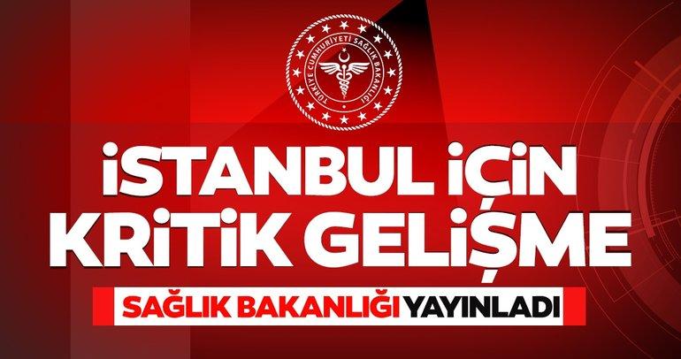 Son dakika haberi: İstanbul'da kritik gelişme! Sağlık Bakanlığı'ndan koronavirüs risk haritası açıklaması geldi