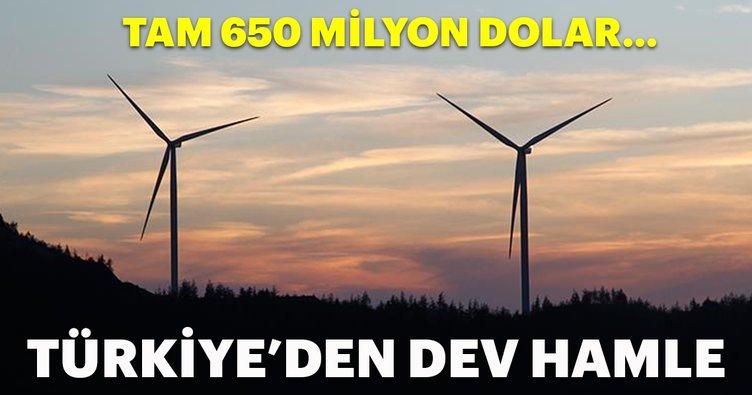 Türkiye'den dev hamle! 650 milyon dolarlık yatırım...