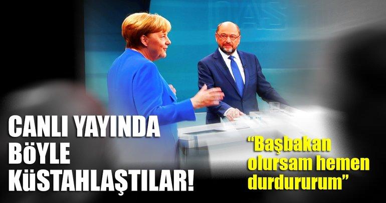 Merkel ve Schulz'un tek ortak noktası: Türkiye hazımsızlığı