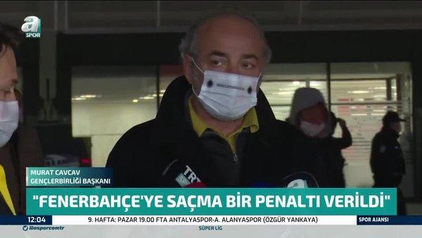 Murat Cavcav: Fenerbahçe'ye saçma bir penaltı verildi