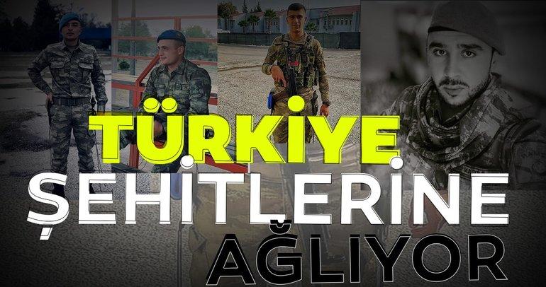 İdlib'de hain saldırıda şehit düşmüşlerdi! Kahramanların isimleri belli oldu