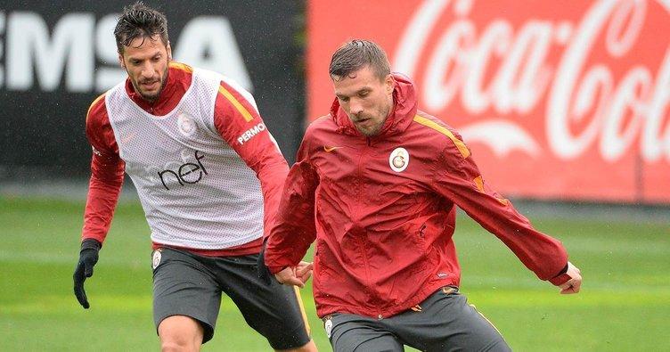 Galatasaray'da Fenerbahçe hazırlıkları sürüyor
