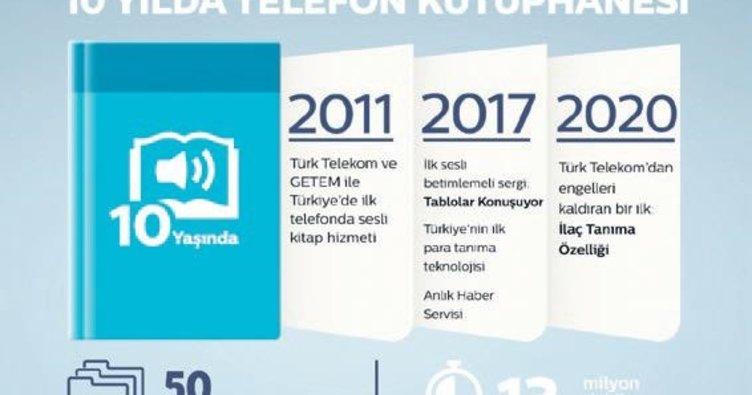 Telefon Kütüphanesi 10 yıldır kitapların sesi