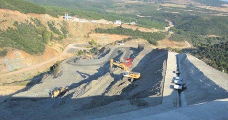 Gölecik Barajı'nda çalışmalar başladı