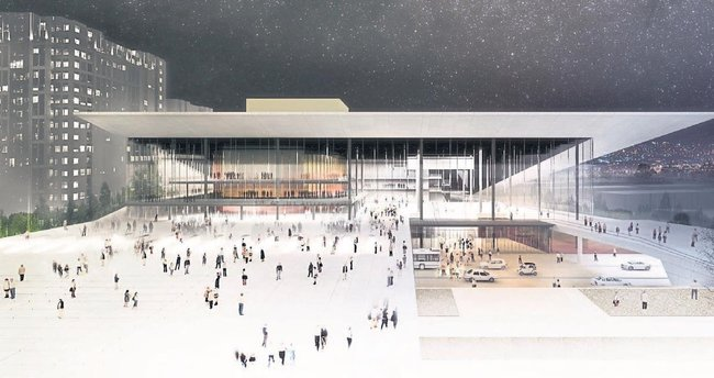 Opera binası projesi de diğerlerine benzemesin