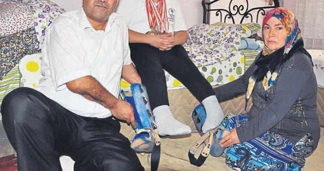 Gazi babanın oğlu için yardım feryadı