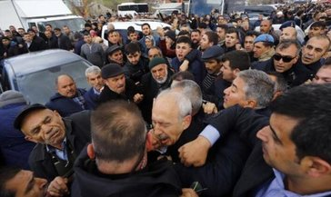 """Kılıçdaroğlu'na saldırı davası başladı! """"Kötü niyetimiz yoktu, protesto ettik"""""""