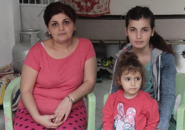 Anne ve kızına 24 saat koruma
