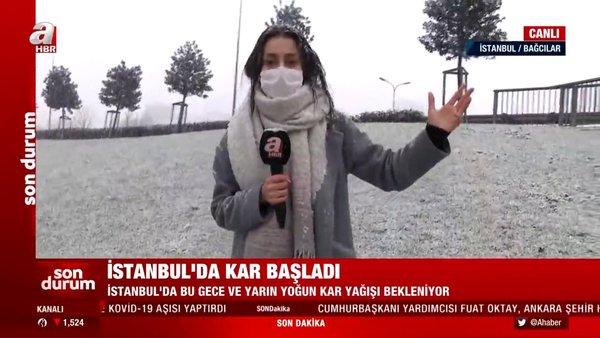SON DAKİKA: İstanbul'da yoğun kar yağışında canlı yayınla son durum! İstanbul'da kar yağışı ne kadar sürecek? | Video
