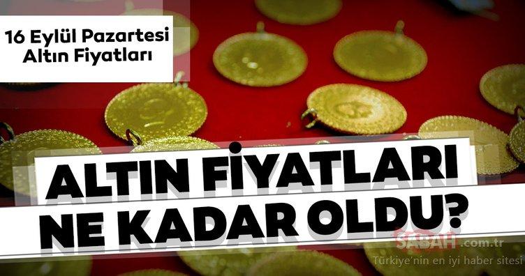 Son Dakika! Altın fiyatları bugün ne kadar oldu? Canlı 16 Eylül gram, yarım, tam ve çeyrek altın fiyatları ne kadar, kaç TL?