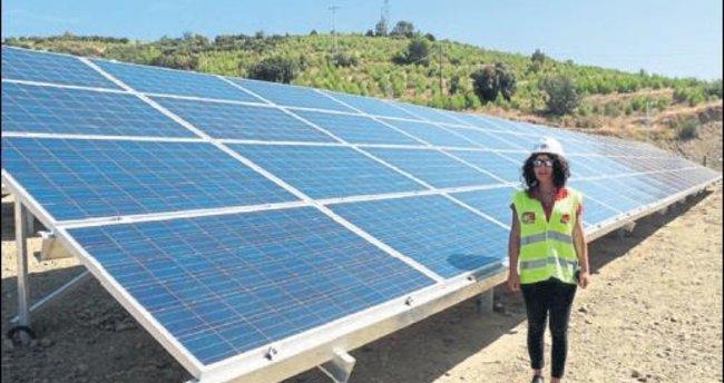 Köy kooperatifinden güneş enerji santrali
