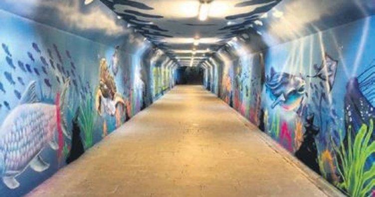 Sincan grafitiler ile renkleniyor