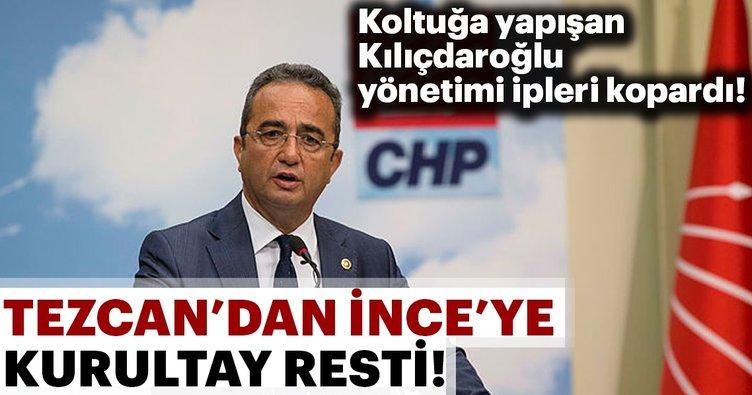 Son Dakika Haberi: CHP'li Tezcan'dan Muharrem İnce'ye kurultay resti!