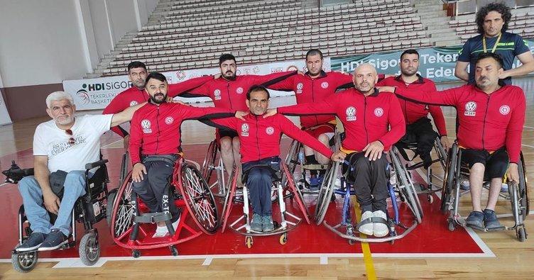 Kızıltepe Engelli Basket takımı finale yükseldi