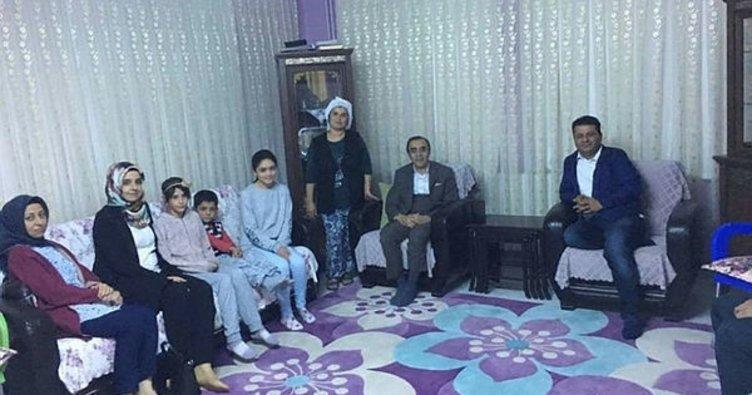 Milli Eğitim Müdürü Ali Şeyh Özdemir velileri ziyaret etti
