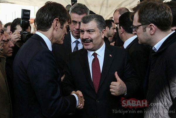 Dr. Mehmet Öz'ün babası Prof. Dr. Mustafa Öz son yolculuğuna uğurlandı