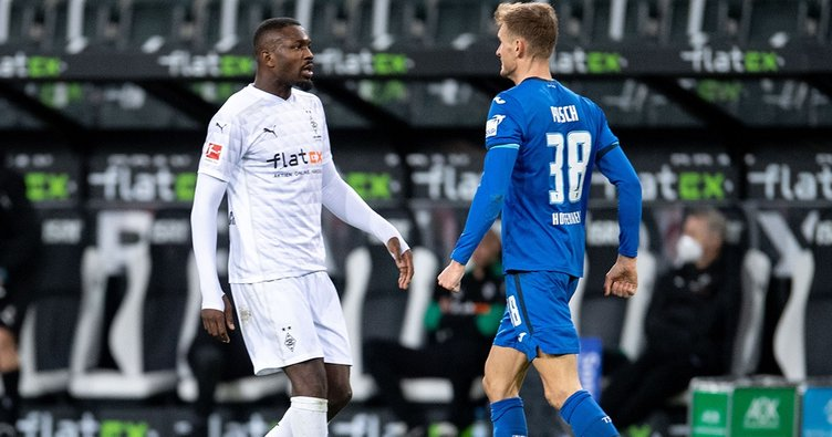 Bundesliga'da tükürük skandalı! Marcus Thuram Stefan Posch'un yüzüne tükürdü