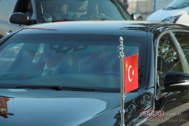Erdoğan, dev projenin çalışmalarını yerinde inceledi